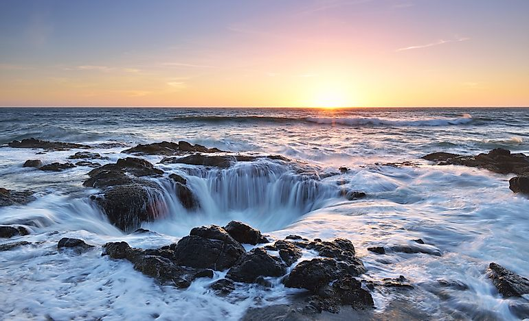 Thor's Well - Unique Places in North America