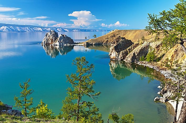 #3 Like Baikal, in Russia, is the world's deepest lake.
