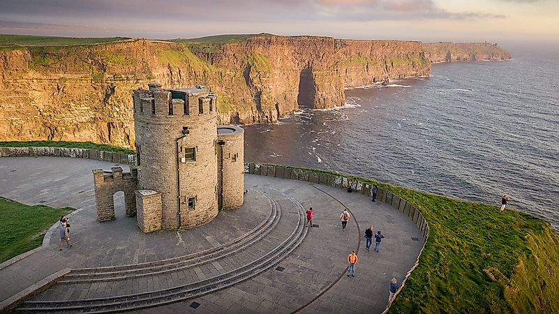 #2 Cliffs Of Moher Visitor Experience