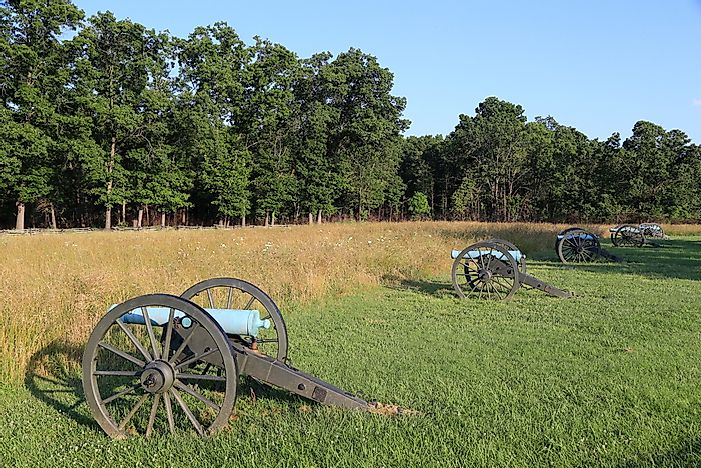 #9 Battle of Pea Ridge (1862) -