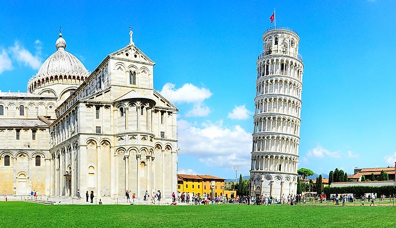 the tower of pisa economics essay Leaning tower of pisa the leaning tower of pisa, also known as the torre  pendente di pisa, known for its renowned work of art is located in pisa, italy.