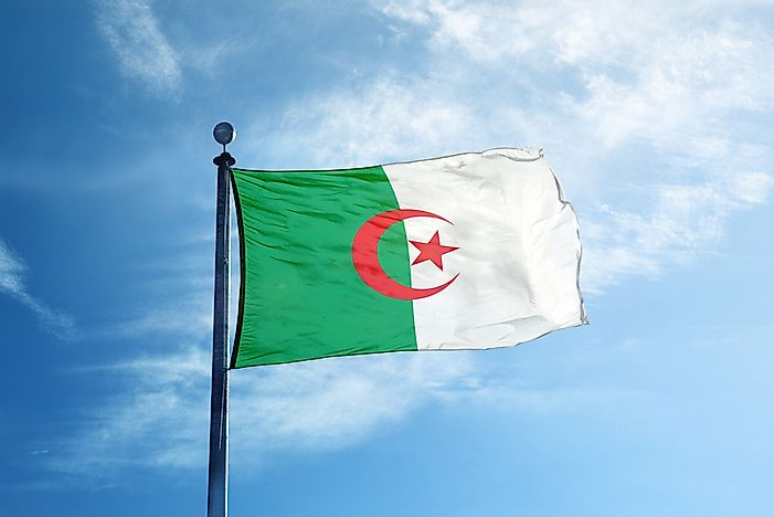 What Do The Colors And Symbols Of The Flag Of Algeria Mean