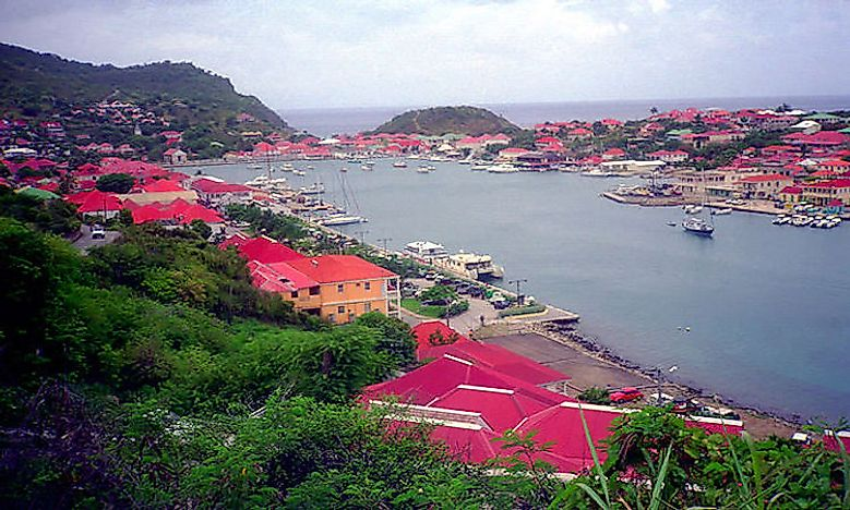 Where Is St Barts Located Saint Barthélemy