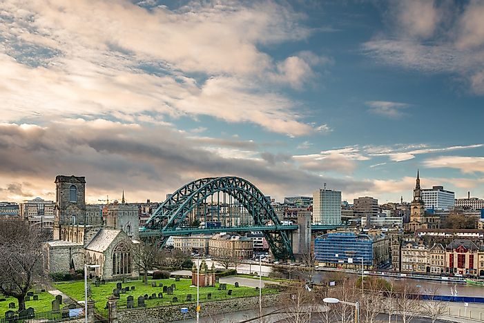 Newcastle Upon Tyne, England.