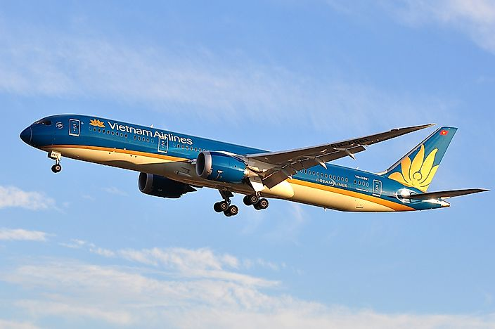 What is the National Airline of Vietnam?