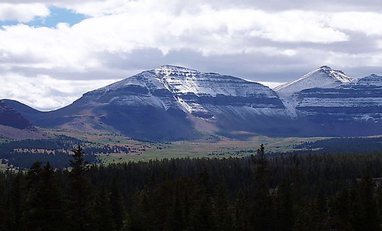 Highest Peaks In Utah