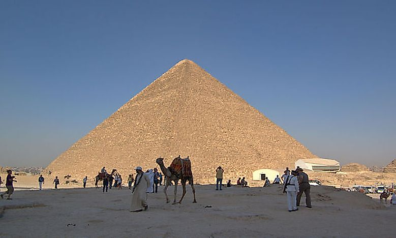 #1 Great Pyramid of Giza (Honorary Candidate) - Completed c. 2560 BC