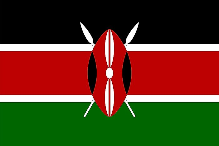 What Do The Colors And Symbols Of The Flag Of Kenya Mean?