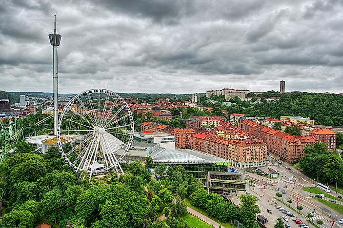 #6 Liseberg - 3 million visitors