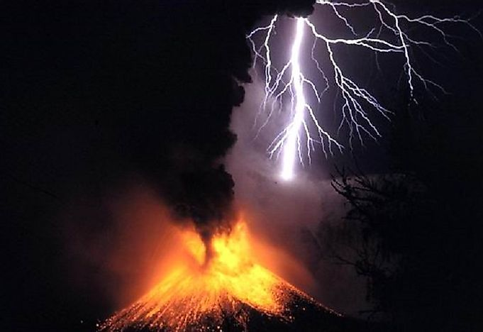 Did You Know Lighting Can Occur In Clouds From Volcanic Eruptions?