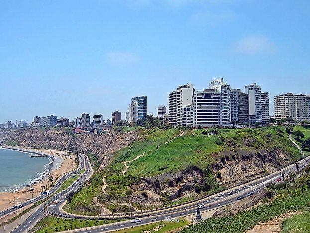 biggest cities in peru worldatlas com