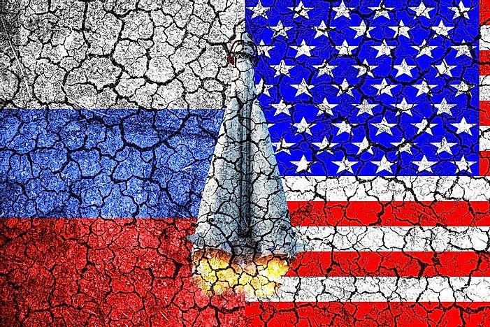 when did the cold war end worldatlascom