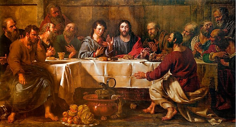 Famous Artwork: The Last Supper