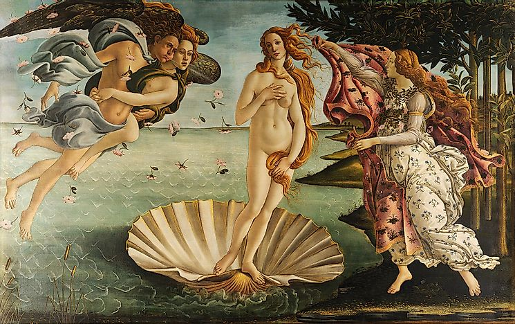 #7 The Birth Of Venus (Uffizi Gallery, Florence)