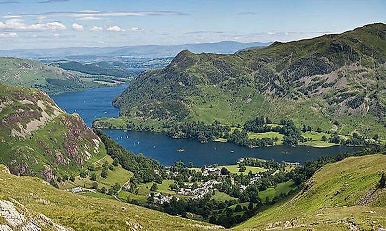 Lakes In The Lake District Of The United Kingdom