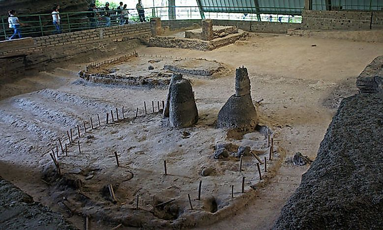 Joya de Cerén Archaeological Site In El Salvador