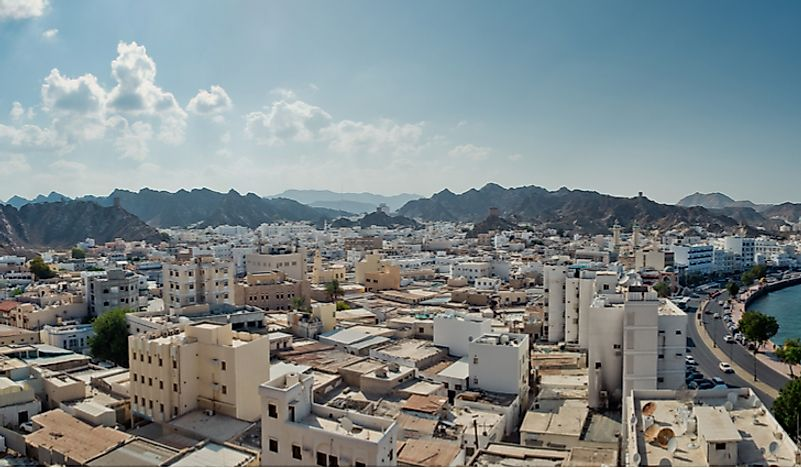 What Is The Capital Of Oman?
