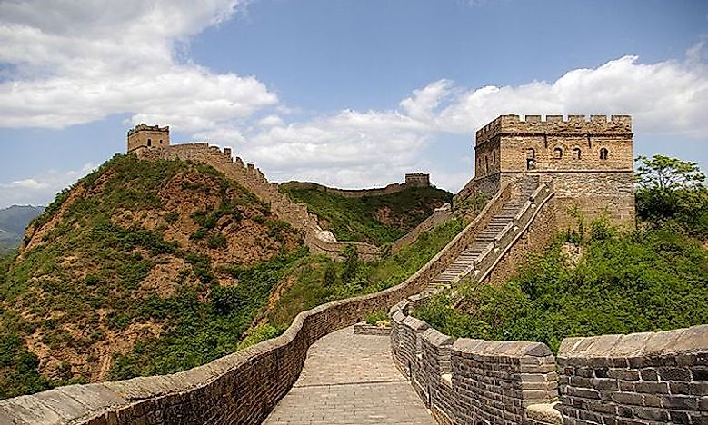 #2 Great Wall of China - Since 7th century BC