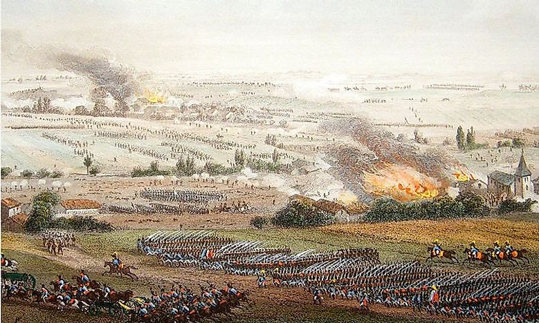 #6 Battle of Ligny (June of 1815) -