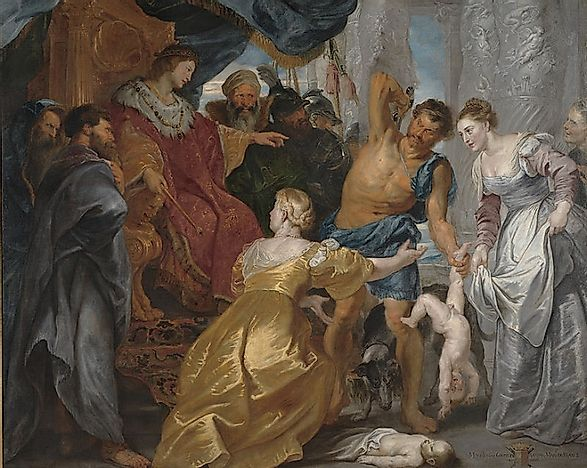 What Was Flemish Baroque Painting Worldatlascom