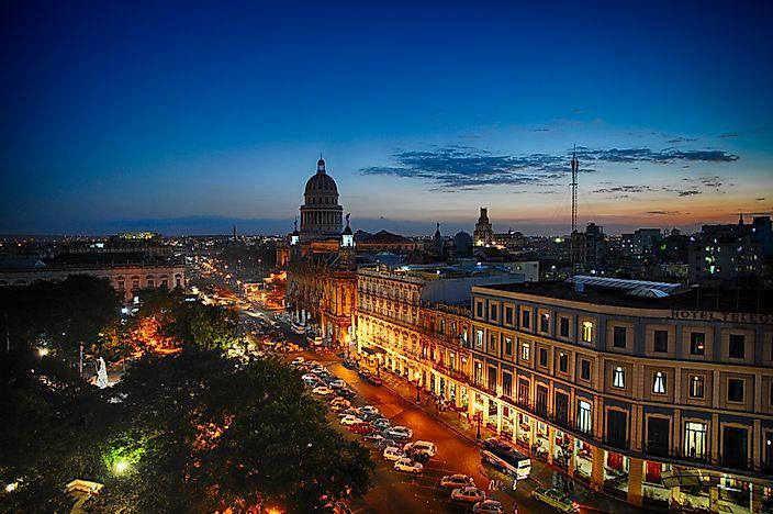 Biggest Cities In Cuba - WorldAtlas com
