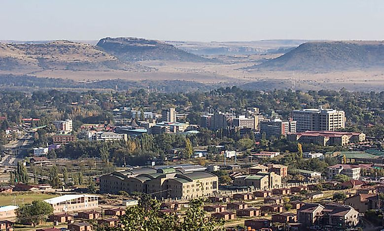 Biggest Cities In Lesotho