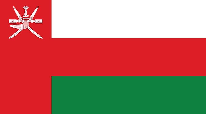 What Do The Colors And Symbols Of The Flag Of Oman Mean?