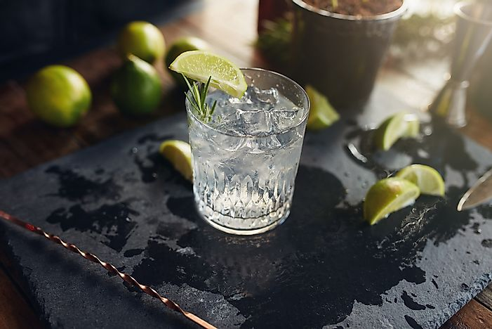 Countries That Drink The Most Gin