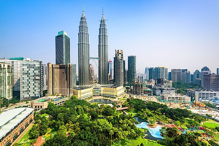 The 10 Tallest Buildings In Kuala Lumpur