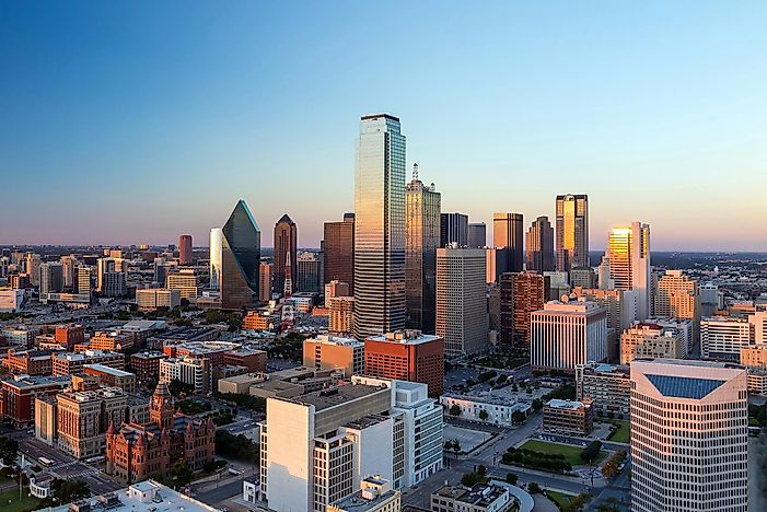 #5 Dallas-Fort Worth-Arlington, Texas - Richest Cities in the US