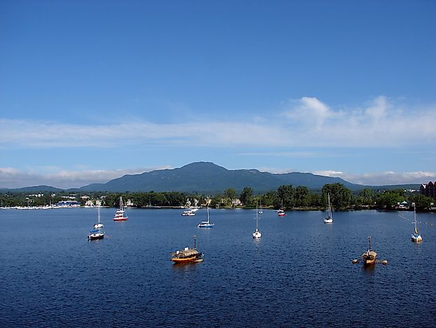 Lake Memphremagog, the alleged home of