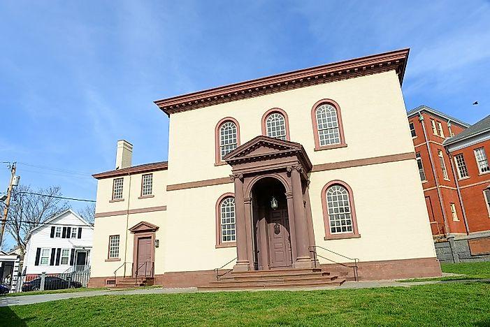 Old Synagogue Newport Rhode Island