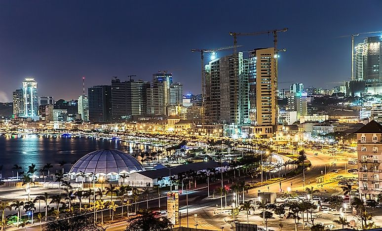 Biggest Cities In Angola