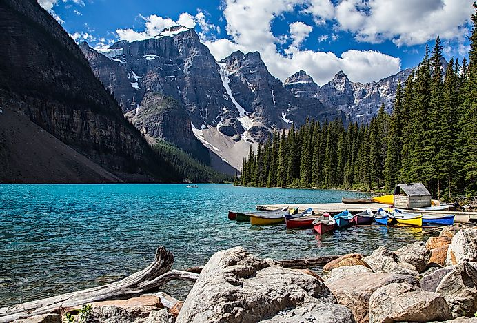 #2 Banff National Park, Canada