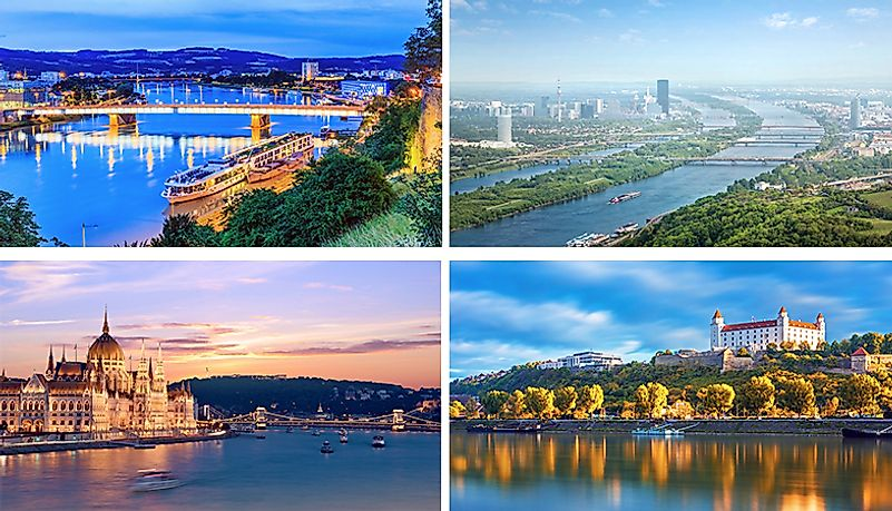 Cities on the Danube
