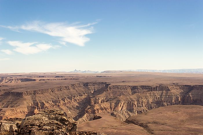 #3 Fish River Canyon, Namibia