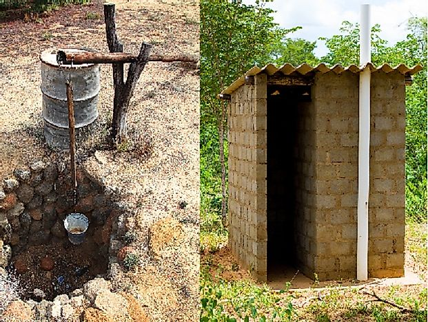 Attractive Countries Whose Rural Populations Have The Lowest Access To Quality  Sanitation Facilities