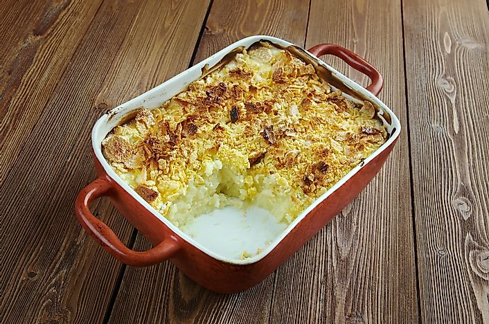 What are Funeral Potatoes?