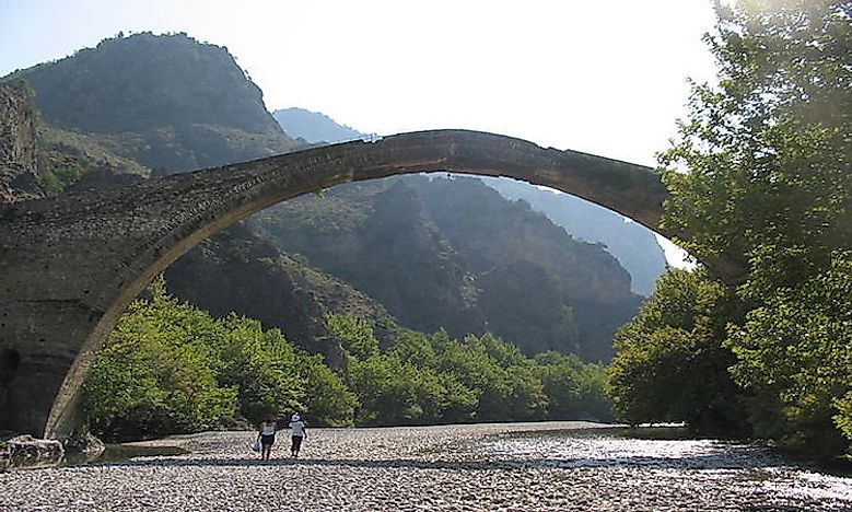 #4 Vikos–Aoös National Park -