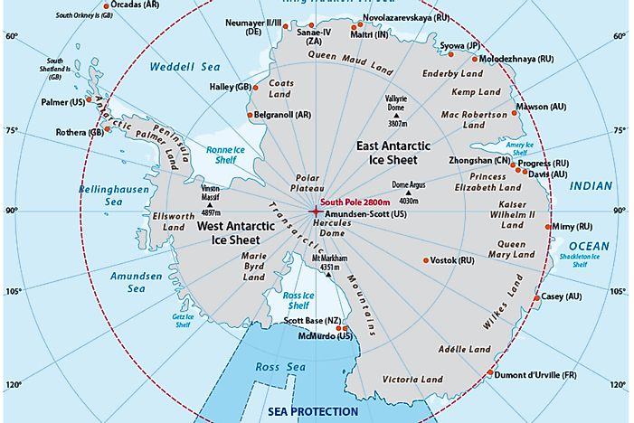 Is Antarctica A Country Who Owns It And What Do International