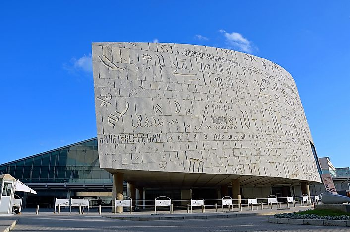 Library of Alexandria - Unique Places in History