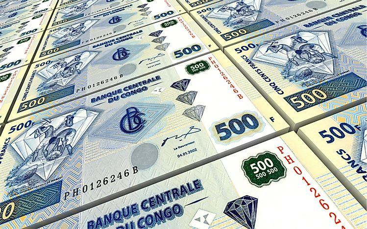 What Is the currency of the Democratic Republic of the Congo?