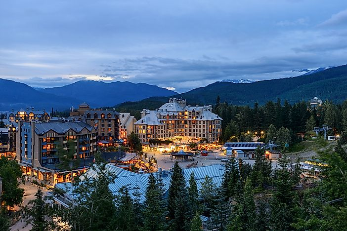 The village of Whistler.