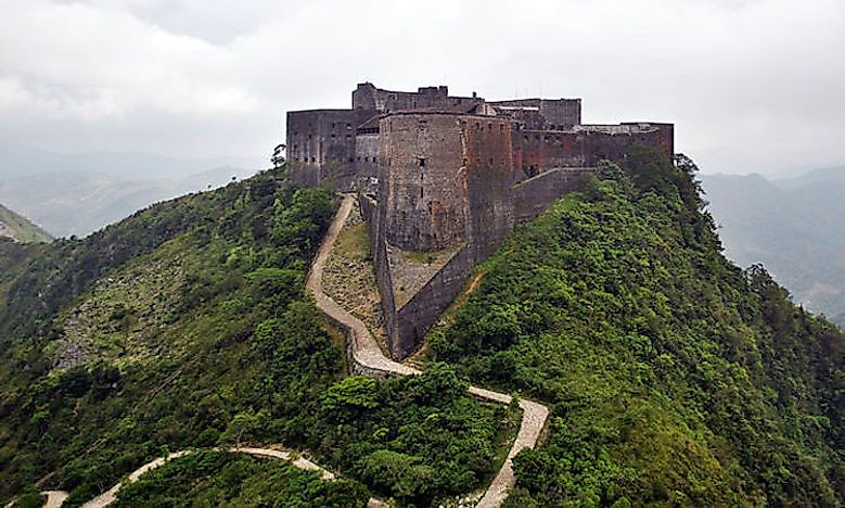 Citadelle Laferrière - Mountain Fortress In Haiti