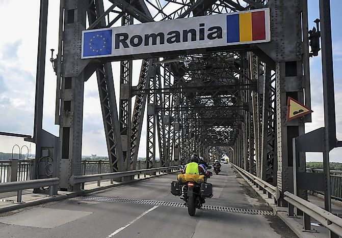 Which Countries Border Romania?