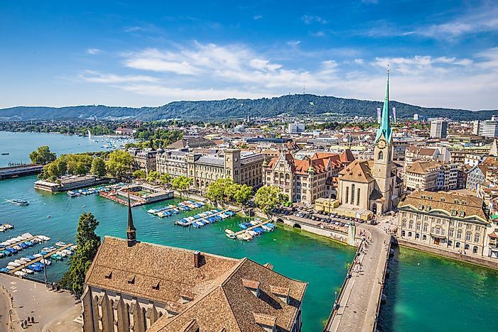 #9 Zurich, Switzerland (3.0 homicides per 100,000 people)