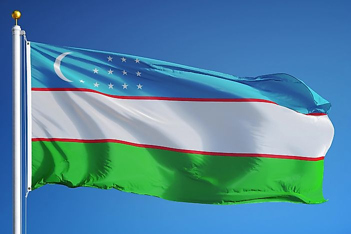 What Do The Colors And Symbols Of The Flag Of Uzbekistan Mean?