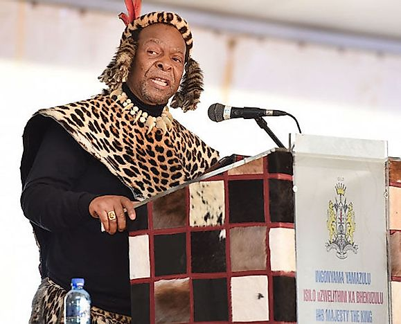 #5 Goodwill Zwelithini kaBhekuzulu of the Zulu, South Africa - 47 Years, 126 Days