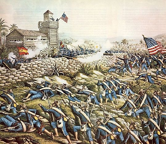The Battle Of San Juan Hill (Spanish-American War)