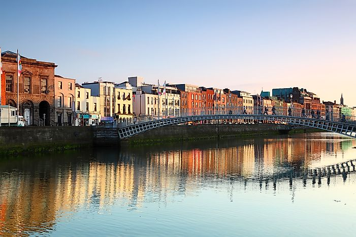 Dublin, the capital of Ireland.